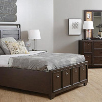 Boulevard Twin Size Storage Bed