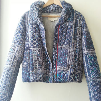 Anthropologie Quilted Puffer Coat