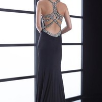 2015 Jasz Couture Fitted Jersey Prom Dress 5451