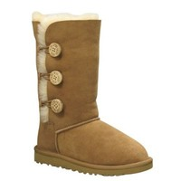 UGG Australia Children's Bailey Button Triplet Big Kids Shearling Boots