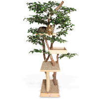 The Feline Tree House - Hammacher Schlemmer