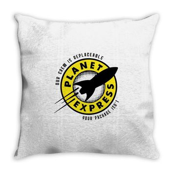 planet express Throw Pillow
