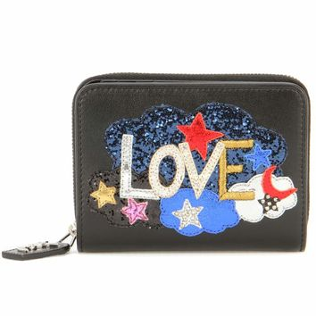 Rive Gauche Love leather wallet