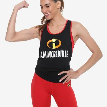 Her Universe Disney Pixar The Incredibles I Am Incredible Girls Tank Top