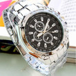 Luxury Men's Stainless Steel Analog Wrist Watch
