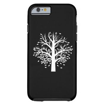 Black and White Nature Tree Phone Case Iphone 6/6s Tough iPhone 6 Case
