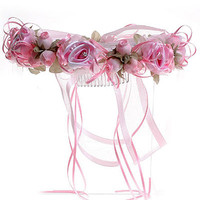 Delicate Floral Head wreath