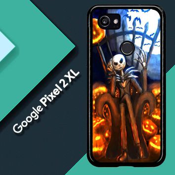 Nightmare Before Christmas Jack Skellington V1947 Google Pixel 2 XL Custom Case