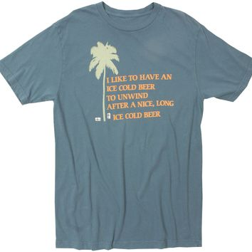 Unwind with an Ice Cold Beer graphic tee by Altru Apparel