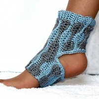 Yoga Socks Crochet Pattern Adaptable for All Sizes PDF by Genevive