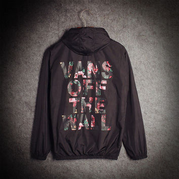 """Vans of the wall"" Hoodies Windbreaker"