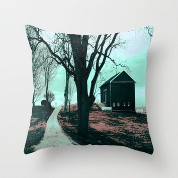 :: Road to Somewhere :: Throw Pillow by :: GaleStorm Artworks ::