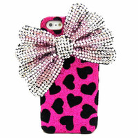 Bling Velvet Pink Iphone 5 Case, Si.. on Luulla