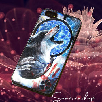 Wolf ,and Nebula ,DreamCatcher /CellPhone,Cover,Case,iPhone Case,Samsung Galaxy Case,iPad Case,Accessories,Rubber Case/2-4-19