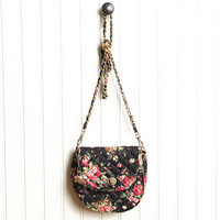 yorkshire estate floral cross body bag in black - $29.99 : ShopRuche.com, Vintage Inspired Clothing, Affordable Clothes, Eco friendly Fashion