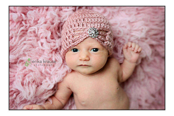 9b493cbf29d Shop Crochet Baby Turban on Wanelo
