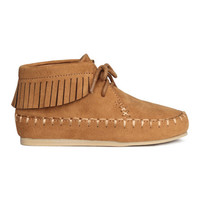 Moccasin Boots - from H&M