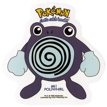 Pokemon - Poliwhirl #61 Decal
