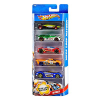 Hot Wheels 5 Car Gift Pack - Colors and Styles Vary