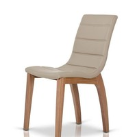 Modrest 8992CH - Modern Leatherette Dining Chair (set of 2)