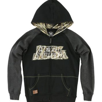 Boys Realtree Buck Up Hooded Fleece Hoodie