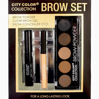 City Color Collection Brow Set