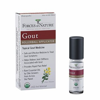 Forces Of Nature Gout Pain Management, Organic - 4 Ml