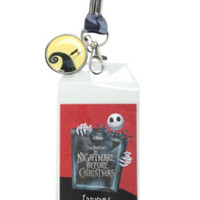 The Nightmare Before Christmas Jack & Sally Lanyard