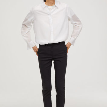 Slacks - Black - | H&M US