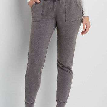 burnwash jogger sweatpant with porkchop pockets | maurices