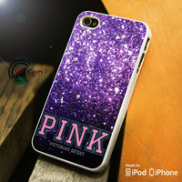 Pink Victoria's Secret iPhone 4 5 5c 6 Plus Case, Samsung Galaxy S3 S4 S5 Note 3 4 Case, iPod 4 5 Case, HtC One M7 M8 and Nexus Case