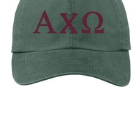 AXO/ Alpha Chi Omega / Choose Your Colors / Sorority Cap
