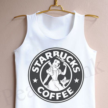 Starbucks Snow White - Tank Top , Tank , Cute Tank Top , Starbucks Snow White Tank Top ,  Snow White Tank Top , Disney Tank top