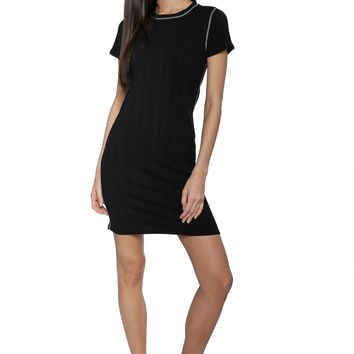 Jac Parker Rib Mini Dress