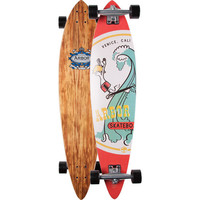 Arbor Fish Skateboard Red/Blue One Size For Men 22371437101