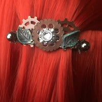 Womens Hair Accessories - Steampunk Hair Accessories - Elven Jewelry - Hair Clip