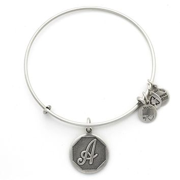 Initial A Charm Bracelet | Alex and Ani