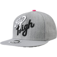 Trukfit Fly High Grey & Pink Flip Bill Snapback at Zumiez : PDP