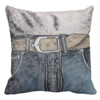 Trousers Throw Pillow