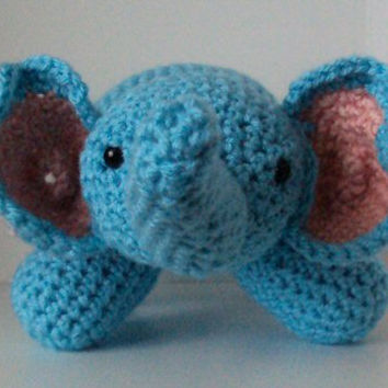 Amigurumi Baby Elephant - Stuffed Animal / Toy