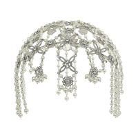 Jewel Crystal Head Dress - Hair Accessories - Accessories - Miss Selfridge