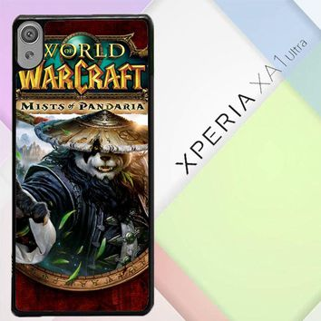 World Of Warcraft Guardian Druid Mists Of Pandaria Z0652 Sony Xperia XA1 Ultra Case