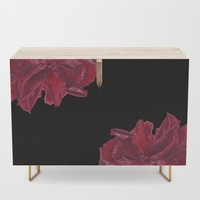 Roses are Red Credenza by drawingsbylam