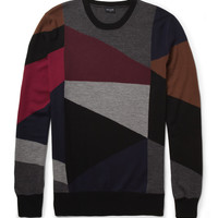PS by Paul Smith Patterned Merino Wool Sweater | MR PORTER