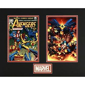 The Avengers - Limited Edition Lithocel Diptych from the Marvel Collector Covers Series