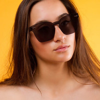 Wesley Rimless Sunglasses | Black