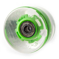 Sunset Skateboards Flare Led Skateboard Wheels Green One Size For Men 23130750001