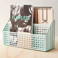 Punched Tin Desk Organizer - Urban Outfitters