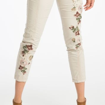 Harietta Embroidered Pant