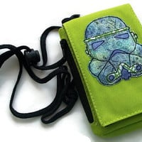 Imperial Stormtrooper Appliqued Phone Case - Star Wars Phone Pouch